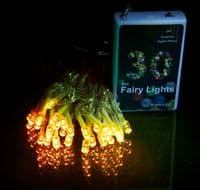 SuperLED Battery Powered 30 LED Fairy String Light Set, with FREE Alkaline Batteries